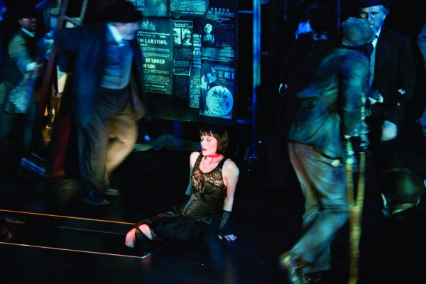 Threepenny Opera presented by by Madison Opera in Overture Center's Playhouse dress rehearsal 2/3/11 (Photo @ Andy Manis)