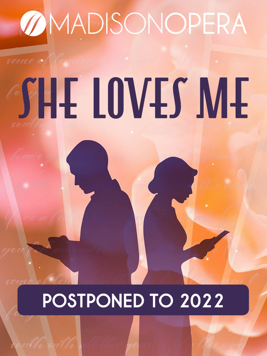 She loves me poster with Postponed on it.